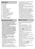 Moulinex hachoir la moulinette blanc - DPA141 - Modes d'emploi hachoir la moulinette blanc Moulinex - Page 5