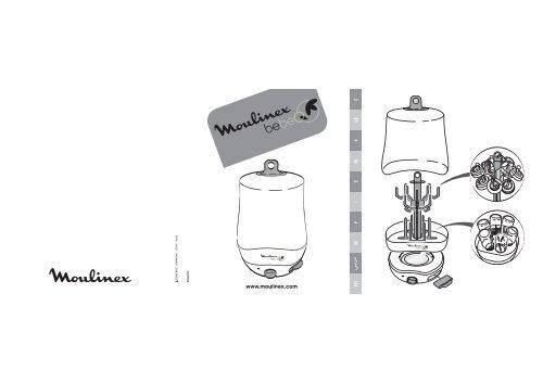 sterilisateur biberon moulinex mode d'emploi