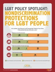 PROTECTIONS FOR LGBT PEOPLE