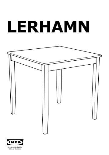 ikea lerhamn table plans de montage with bjursta table extensible. Black Bedroom Furniture Sets. Home Design Ideas