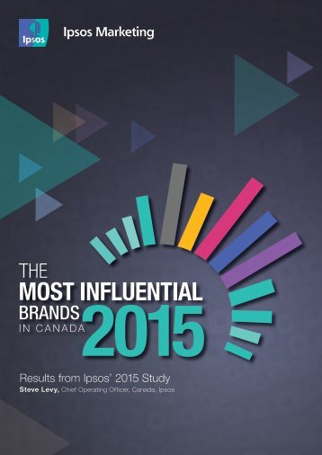 Results from Ipsos' 2015 Study
