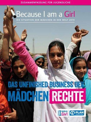 Mädchen Rechte