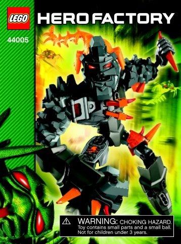 Lego BRUIZER - 44005 (2013) - Rocka XL BI 3022/32-65G-44005 V.39