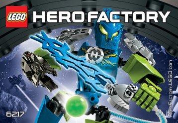Lego SURGE - 6217 (2012) - SURGE & ROCKA COMBAT MACHINE BI 3010/28-6217 V.29