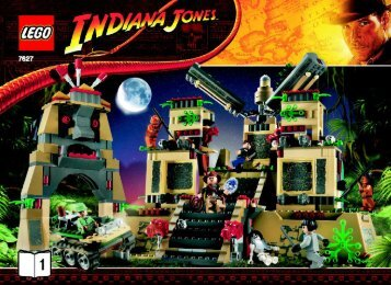 Lego Temple of the Crystal Skull - 7627 (2008) - River Chase BUILD.INST.-7627 BOOK 1/2