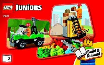 Lego LEGO® Juniors Construction - 10667 (2014) - Vehicle Suitcase BI 3003/20- 10667 BOOK 2/2 V29