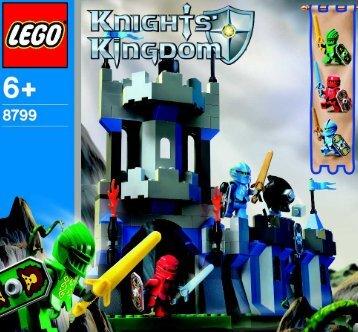 Lego Knights' Castle Wall - 8799 (2004) - Knights' Castle Wall BI, 8799