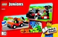 Lego Race Car Rally - 10673 (2014) - Vehicle Suitcase BI 3004/28 - 10673 BOOK 2/2 V29