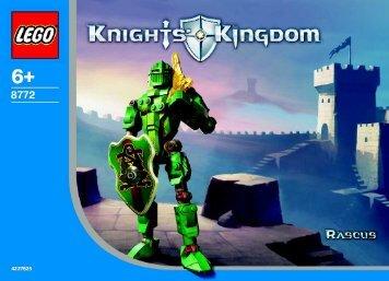 Lego Knights' Kongdom Heros B - 65580 (2004) - Knights Kingdom 8771/8773 BI 8772
