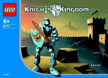 Lego Knights Kingdom 8771/8773 - 65412 (2003) - Knights Kingdom 8771/8773 BI, 8771