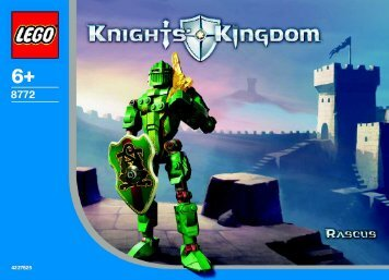 Lego Knights Kingdom 8772/8774 - 65413 (2003) - Knights Kingdom 8771/8773 BI 8772