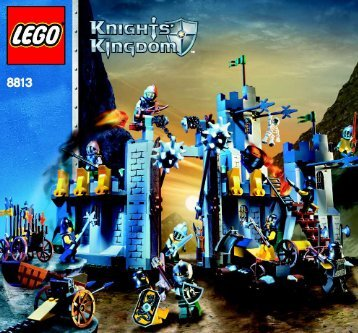 Lego Battle at the Pass - 8813 (2006) - Knights' Castle Wall BI, 8813 IN