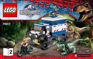 Lego Raptor Rampage - 75917 (2015) - Pteranodon Capture BI 3004/52 - 75917 V39 2/2
