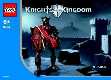 Lego Knights Kingdom 8772/8774 - 65413 (2003) - Knights Kingdom 8771/8773 BI, 8774