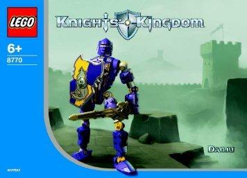 Lego Knights' Kongdom Heros A - 65579 (2004) - Knights Kingdom 8771/8773 BI 8770