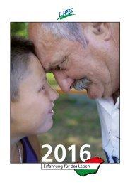 Life Jugendhilfe Kalender 2016