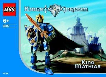 Lego King Mathias - 8809 (2004) - Knights' Castle Wall BI, 8809