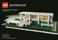 Lego Farnsworth House™ - 21009 (2011) - Willis Tower BI  235 x 165-21009 V.29