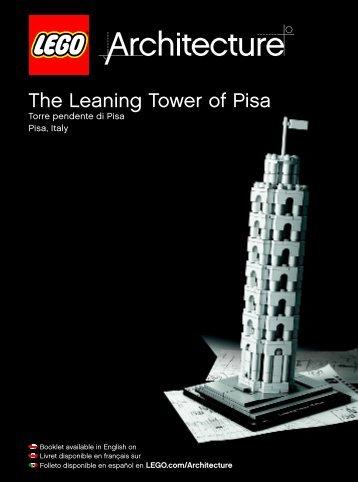 Lego The Leaning Tower of Pisa - 21015 (2013) - Robie™ House BI 3022/96+4-115+150G 21015 V.39