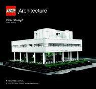 Lego Villa Savoye - 21014 (2012) - Robie™ House BI 3005 152+4/115g+350g - 21014 V.39