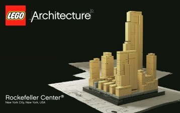 Lego Rockefeller Plaza® - 21007 (2010) - Willis Tower BI 3004/56+4-GLUED, 21007 v17