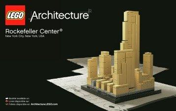 Lego Rockefeller Plaza® - 21007 (2010) - Willis Tower BI 3004/56+4-GLUED-21007 V.39