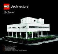 Lego Villa Savoye - 21014 (2012) - Robie™ House BI 3005 152+4/115g+350g - 21014 V.29