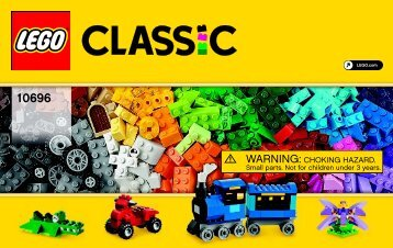 Lego LEGO® Medium Creative Brick Box - 10696 (2015) - LEGO® Creative Building Box BI 3004 60 - 10696 V39