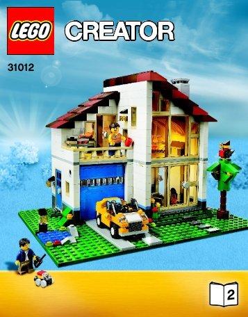 Lego Family House - 31012 (2013) - Small Cottage BI 3016/56, 31012 2/4 V39
