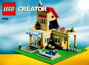 Lego Family Home - 6754 (2009) - Mini Off-roader BI 3006/72+4 - 6754 - 4/4