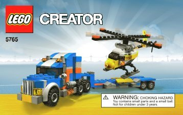 Lego Transport Truck - 5765 (2010) - Transport Truck BI 3004/64 - 5765 V 39 1/2