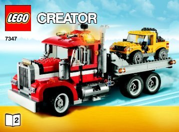 Lego Highway Pickup - 7347 (2012) - Super Soarer BI 3006/56 - 7347 V29/39 2/4