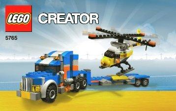 Lego Transport Truck - 5765 (2010) - Transport Truck BI 3004/64 - 5765 V 29 1/2