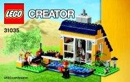 Lego Beach Hut - 31035 (2015) - Red Go-Kart BI 3004/56 - 31035 V29 3/3