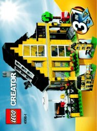 Lego Beach House - 4996 (2008) - Fast flyers BUILDING INSTR., 4996, 1/3