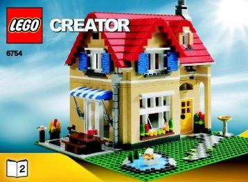 Lego Family Home - 6754 (2009) - Mini Off-roader BI 3006/48 - 6754 2/4