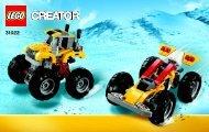 Lego Turbo Quad - 31022 (2014) - Twinblade Adventures BI 3004/80+4 - 31022 BOOK 2/2 V29