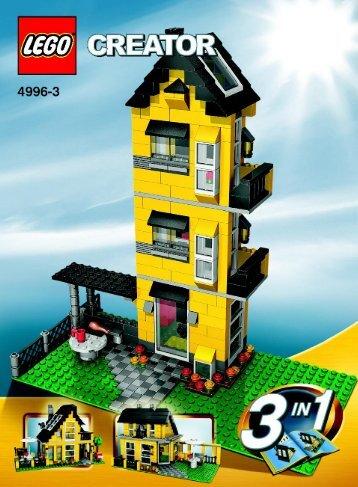 Lego Beach House - 4996 (2008) - Fast flyers BUILDING INSTR., 4996, 3/3