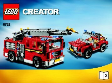 Lego Fire Rescue - 6752 (2009) - Mini Off-roader BI 3006/72+4 - 6752 2/3