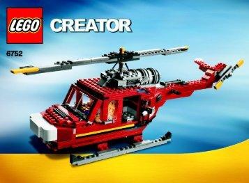 Lego Fire Rescue - 6752 (2009) - Mini Off-roader BI 3006/80+4 - 6752 3/3