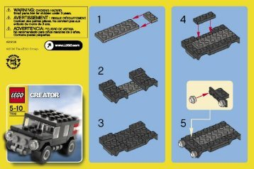 Lego Creator - 66208 (2007) - Apple Tree House BI  7602