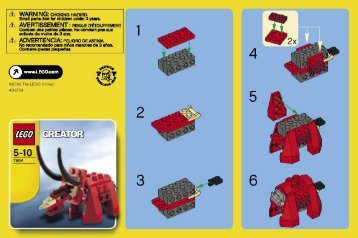 Lego Creator - 66208 (2007) - Apple Tree House BI  7604
