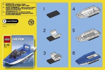 Lego Creator - 66208 (2007) - Apple Tree House BI  7610
