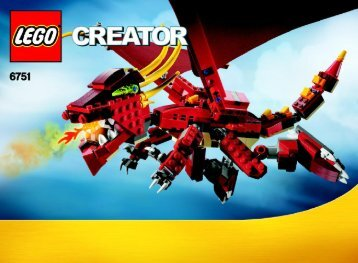 Lego Fiery Legend - 6751 (2009) - Mini Off-roader BI 3006/72+4 - 6751 1/3