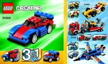 Lego Mini Speeder - 31000 (2012) - Year of the snake BI Creator 148x88 - 24, 31000 V29