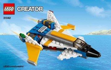 Lego Super Soarer - 31042 (2015) - Desert Racers BI 3003/24, 31042 2/3 V39