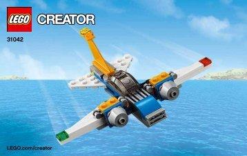 Lego Super Soarer - 31042 (2015) - Desert Racers BI 3003/16, 31042 3/3 V29