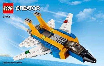 Lego Super Soarer - 31042 (2015) - Desert Racers BI 3003/36, 31042 1/3 V39