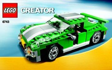 Lego Street Speeder - 6743 (2008) - Mini Off-roader BI 3004/48 - 6743 - 1/2