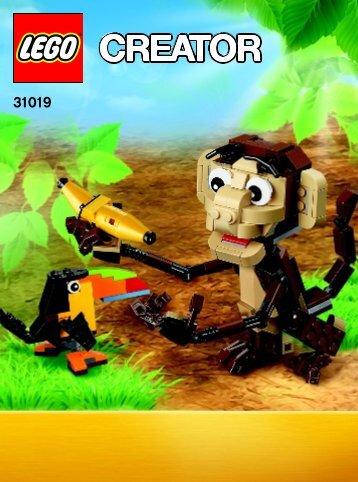 Lego Forest Animals - 31019 (2013) - Small Cottage BI 3022 / 60 / 65g, BOOK 1/3,31019 V29